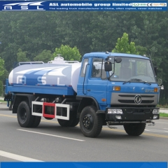 China Dongfeng 6wheels Water Trucks export to Mozambique