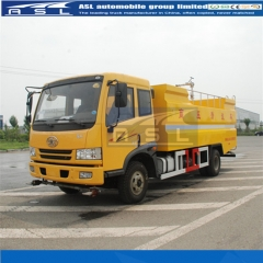 Best FAW 6000Litres Water Jetting Trucks exported to Zambia