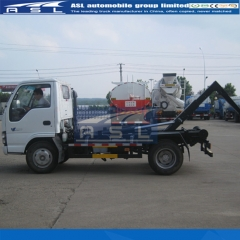 3units ISUZU 5Tons Hook Lifts Dump Trucks exported to Tunisia