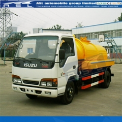 China ISUZU 2000Litres Vac Trucks purchased by Romania clients