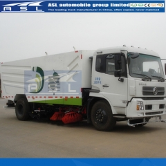 Best China Dongfeng 9CBM Street Sweepers purchased by Lebanon clients