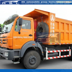 China Best Beiben V3 Dumping Trucks purchased by Mali clients