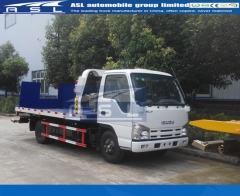 6wheels ISUZU 3Tons Wrecker Trucks purchased by Iran