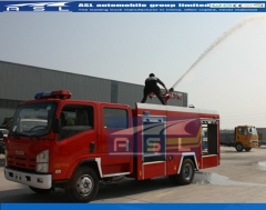 700P 6wheels 5000Litres Rescue Vehicles exported to Myanmar