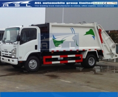Guaranteed Best Isuzu 5CBM Garbage Trucks purchased by Mauritius clients