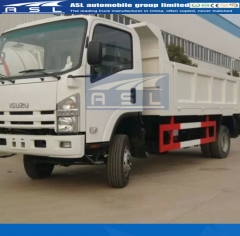 China Best Isuzu 700P Dumping Trucks exported to Jordan