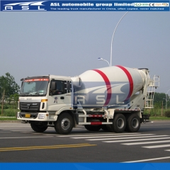 China FOTON 8cbm Concrete Mixer Trucks exported to Libya