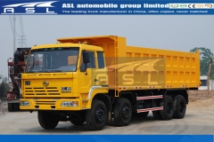 Best Genlyon Iveco Dump trucks exported to Zimbabwe