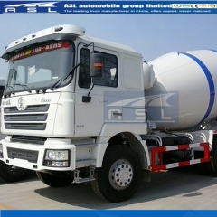 Shacman 10CBM Concrete Mixers produced export to Syria