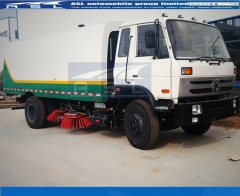 China Dongfeng Road Sweepers exported to Nepal