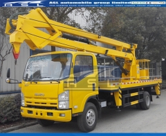 ISUZU 16m 6Wheels Bucket Trucks exported to Myanmar
