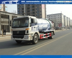 China FOTON 8000Litres Vacuum Trucks exported to Bangladesh