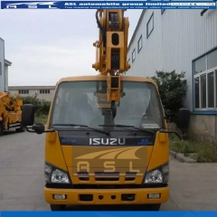 ISUZU 6Wheels 18M Aerial Work Platforms exported to Tahiti