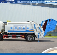 Dongfeng 6CBM Garbage Trucks will ship to Myanmar