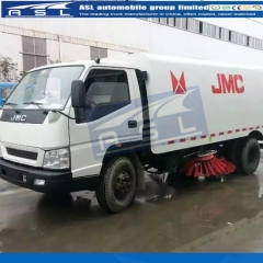 Cheap 6Wheels 3CBM Road Sweepers exported to Kenya