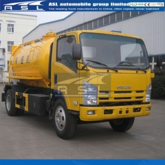 Cheap ISUZU Water Jetting Trucks exported to Myanmar