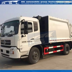 Cheap Dongfeng 6Wheels Garbage Trucks will ship to Congo