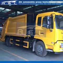 China 10CBM Garbage Compactor Trucks export to Guinea