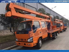 Japan ISUZU 14m Bucket Trucks exported to Cambodia