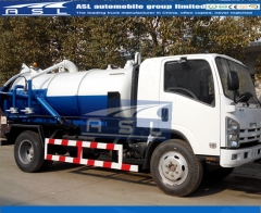 Japan ISUZU 5000Litrtes Sewer Trucks exported to Angola