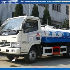 China Dongfeng 3CBM Water Tanker Trucks export to Myanmar