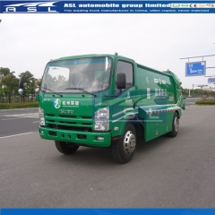 Isuzu 6Wheels 8CBM Garbage Trucks export to United Arab Emirates