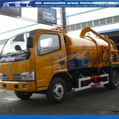 China 3000Litrtes Sewer Suction Trucks exported to Philippines