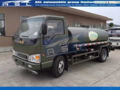 JAC 5CBM Water Tanker Trucks export to Cambodia