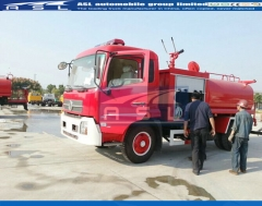 China JAC 6Wheelers Water Tanker Trucks export to South Sudan