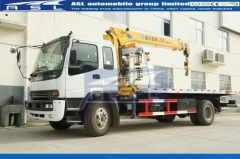 6wheels ISUZU Wrecker Trucks purchased by Cambodia