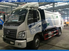 China FOTON 3Tons Garbage Trucks exported to Kenya