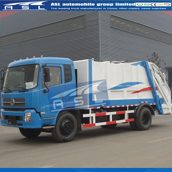 China FAW 10Tons Garbage Trucks export to Zambia