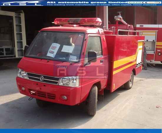Dongfeng 1000Litres Fire fighter Vehicles exported to Turkmenistan